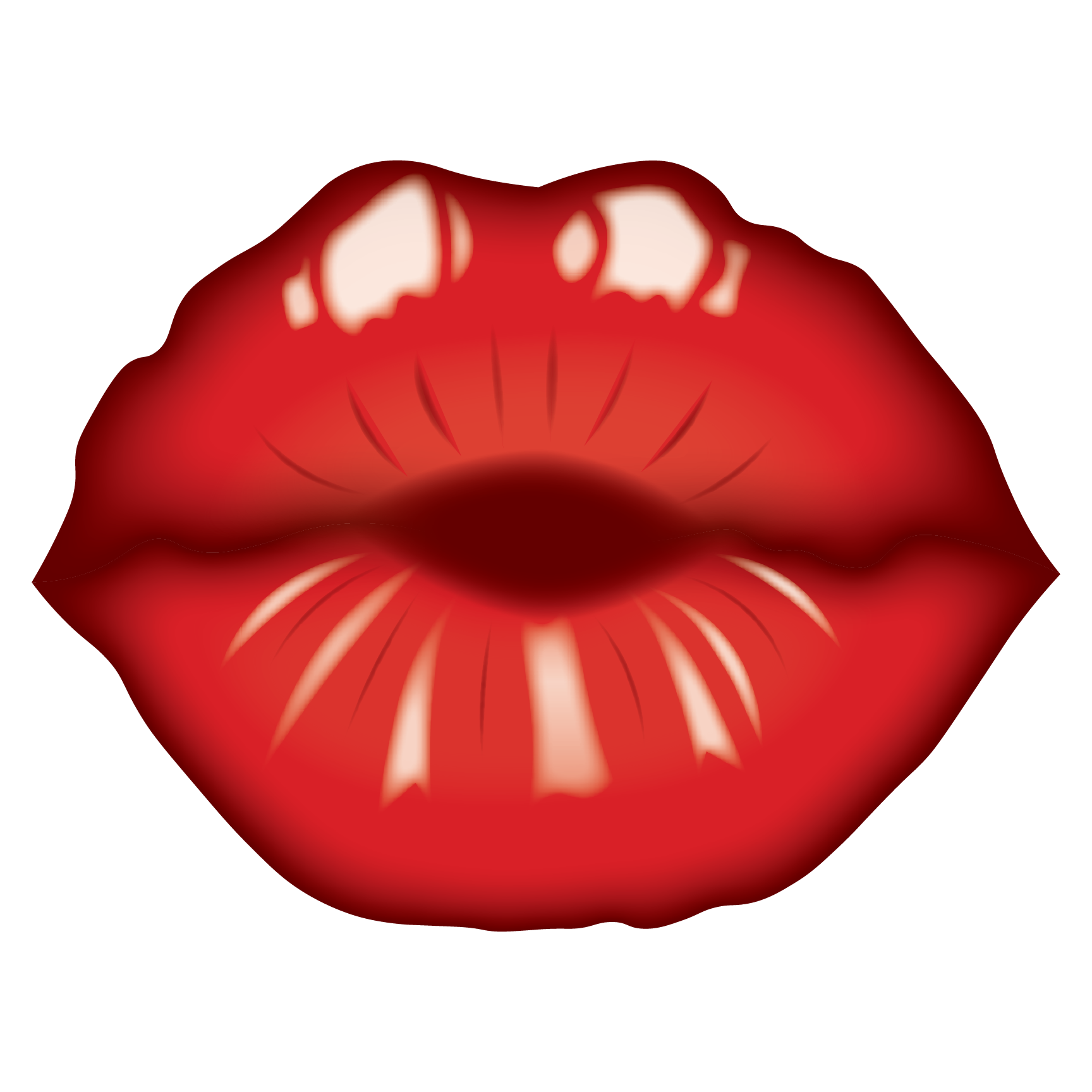 Laura ruesch project. Lips clipart pretty lip