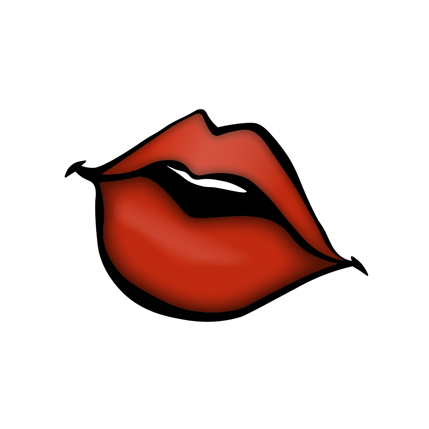 Lips clipart logo. Laura ruesch project feel