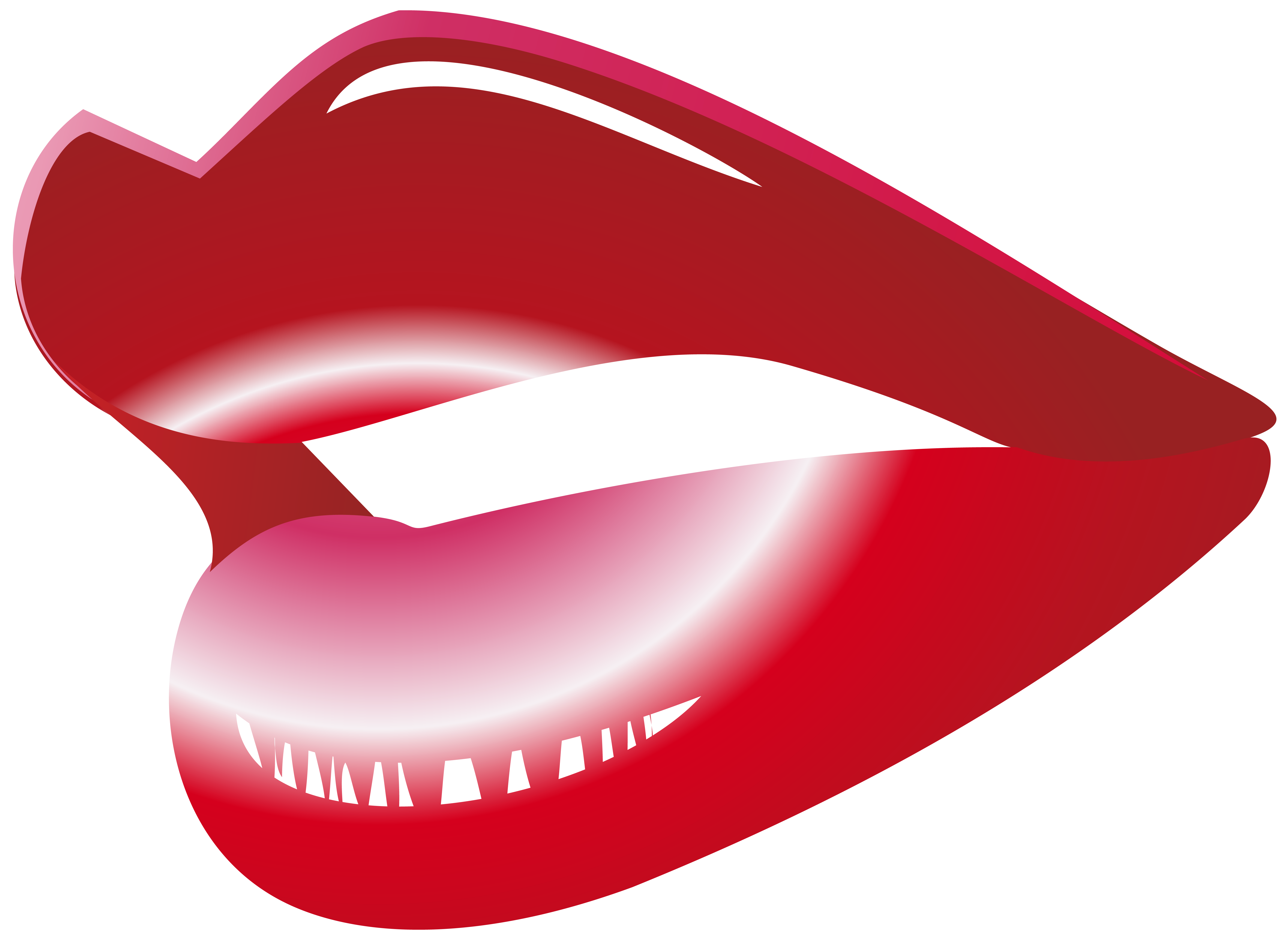 Red mouth png clip. Lips clipart nose