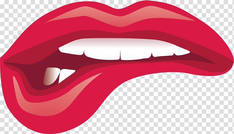 Illustration kiss cartoon . Lips clipart pretty lip
