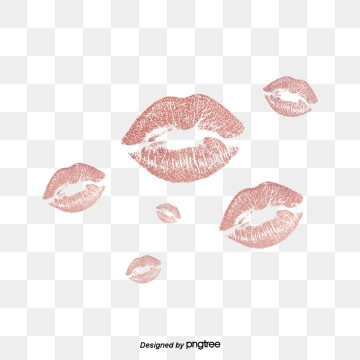 Lips png vector psd. Lip clipart rose gold