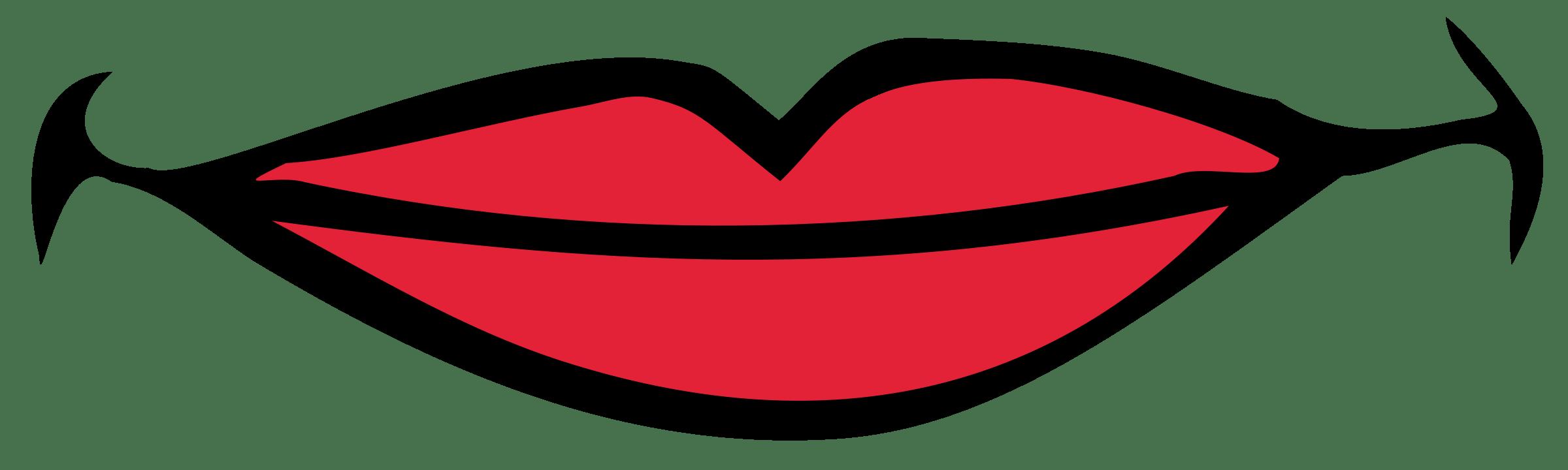 Clip art . Lips clipart quiet