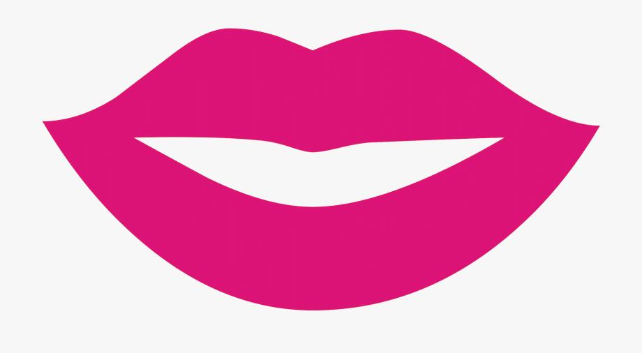 Lip clipart silhouette. Lips clip art black