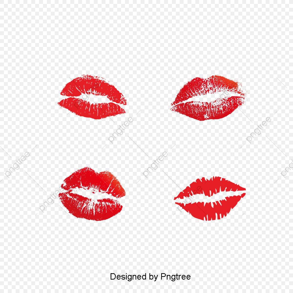 Lip clipart simple lip. Red lipstick print design