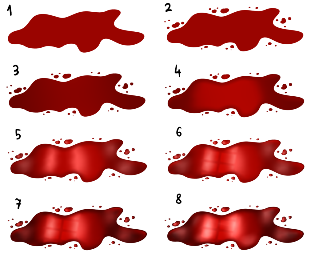 Lip clipart sketch. How to draw blood