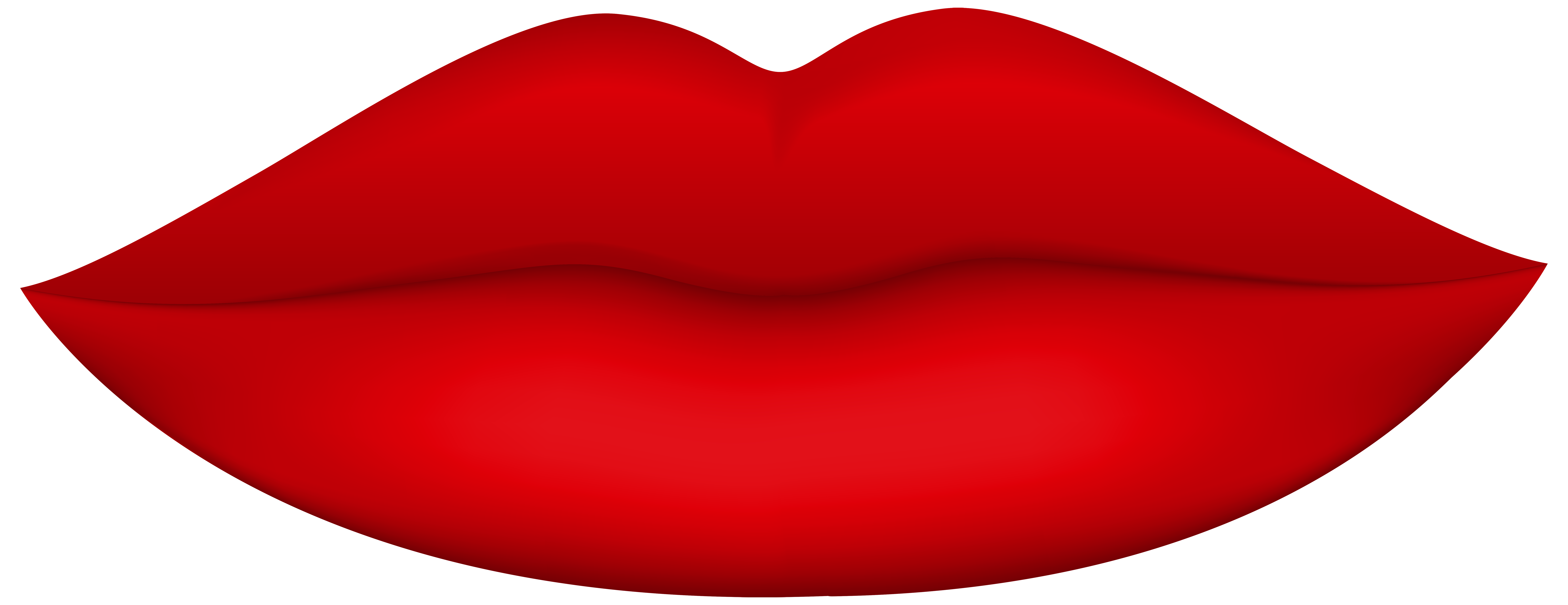 Lips clipart. Red png clip art