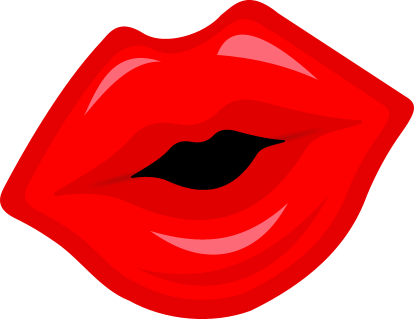 Big Red Lips Png Download - Lips Clipart (#5583824) - PinClipart