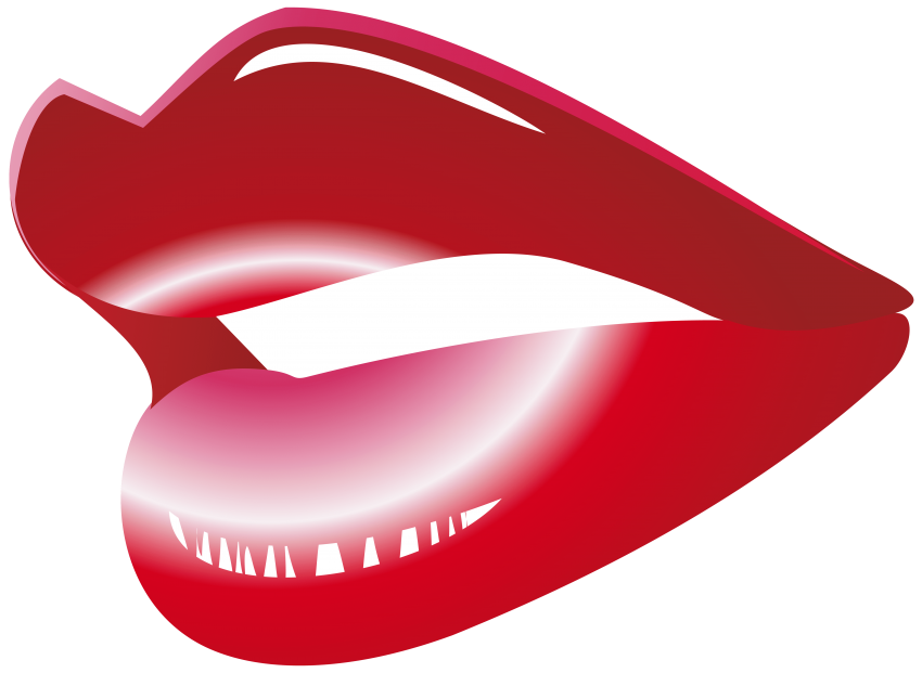Red mouth png free. Lips clipart candy