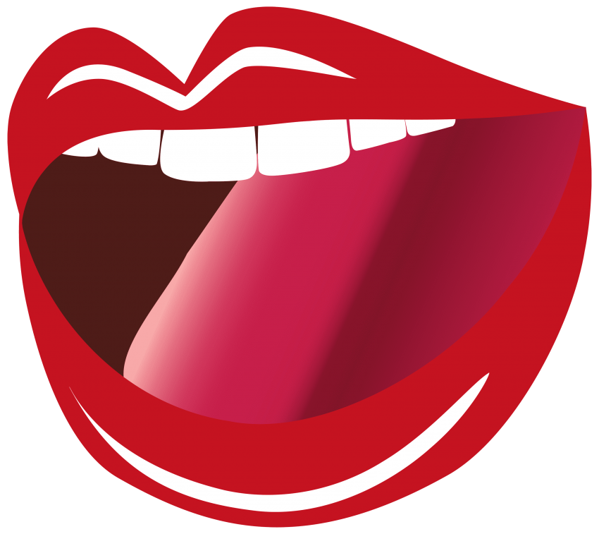 mouth clipart red object