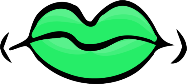 Lips clipart green lip. Free closed mouth cliparts