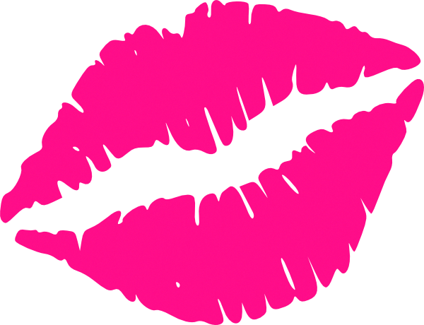 Lips clipart pink lip. Hot clip art vector