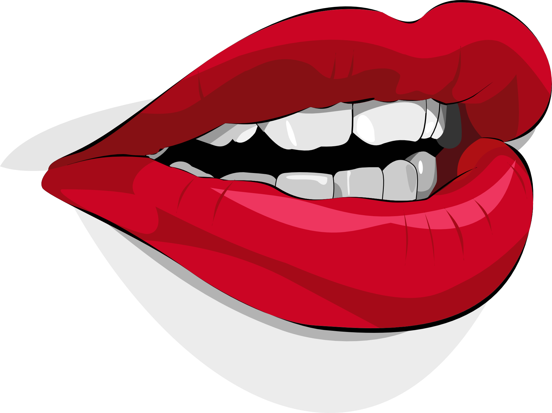 Vampire Clipart Lip Vampire Lip Transparent Free For Download On Webstockreview 2019
