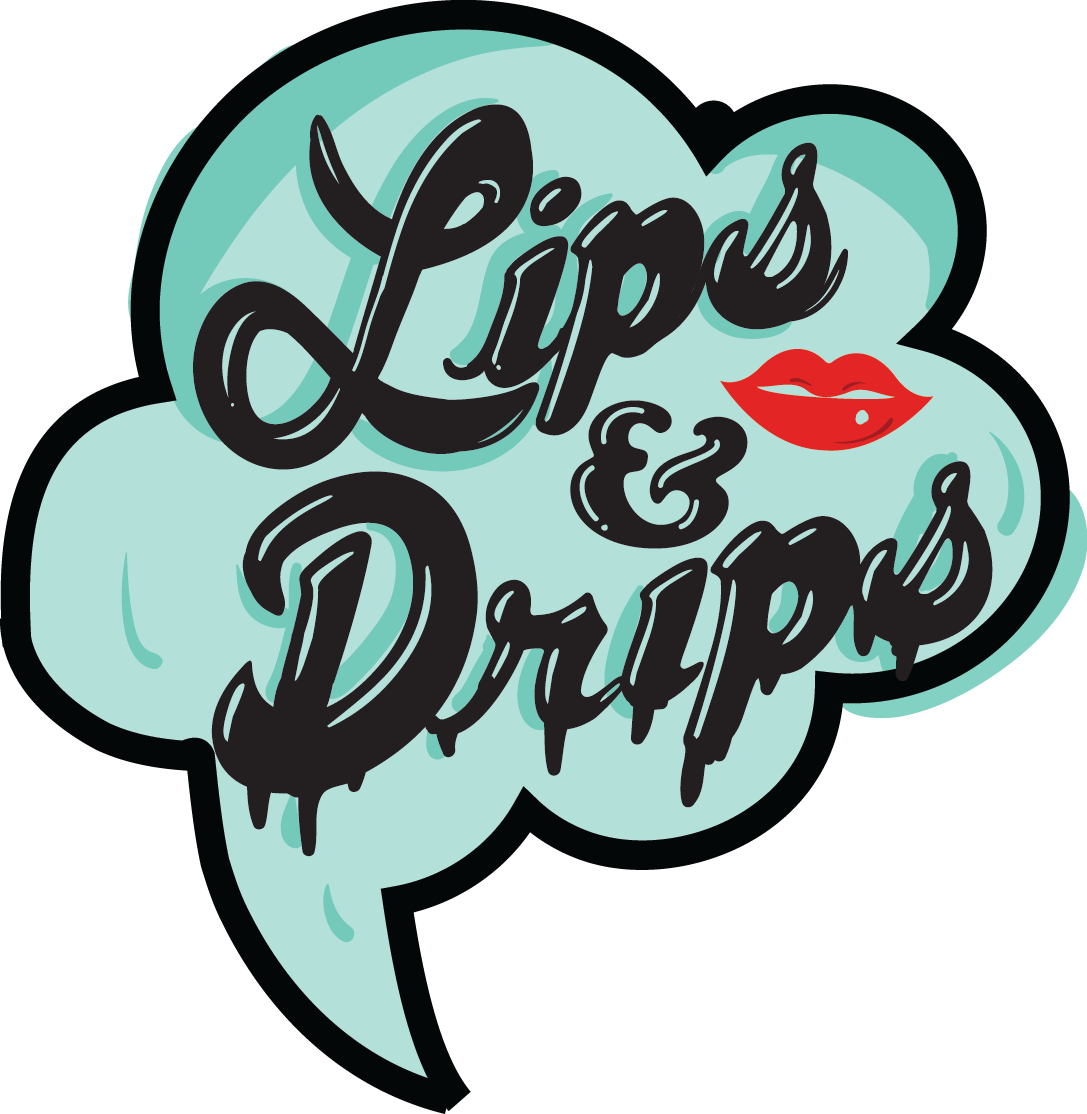 Lips clipart turquoise. Drips e liquid