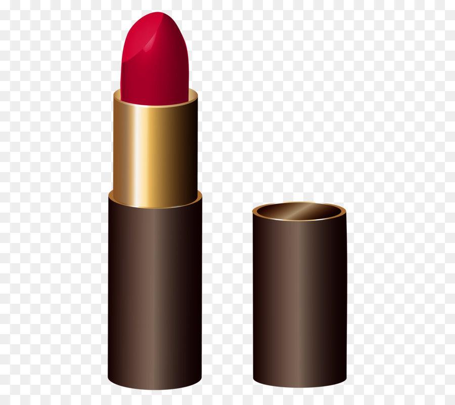 Lipstick clipart. Cosmetics clip art red