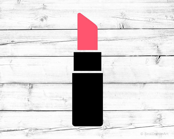 Svg silhouette png . Lipstick clipart