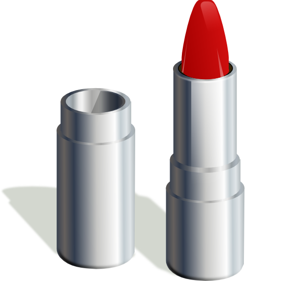 Clip art at clker. Lipstick clipart animated