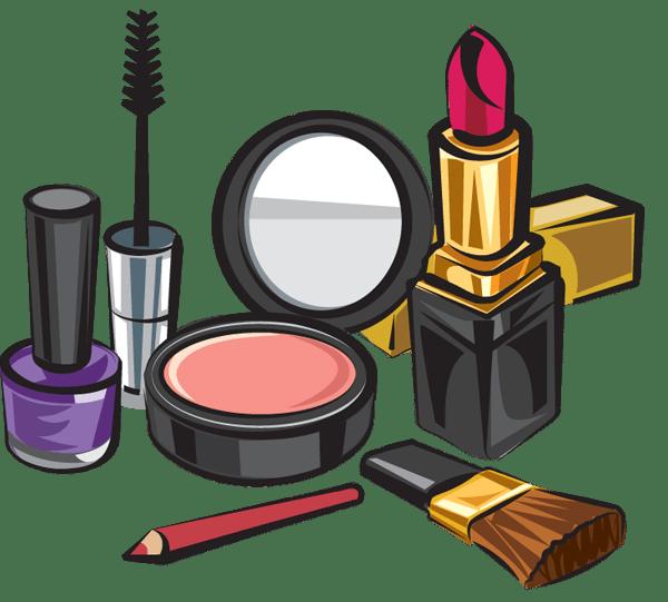 Makeup kit transparent png. Lipstick clipart clear background