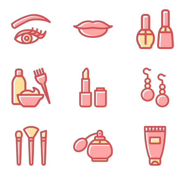 packs vector svg. Lipstick clipart flat icon