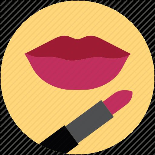 fashion icons vol. Lipstick clipart flat icon