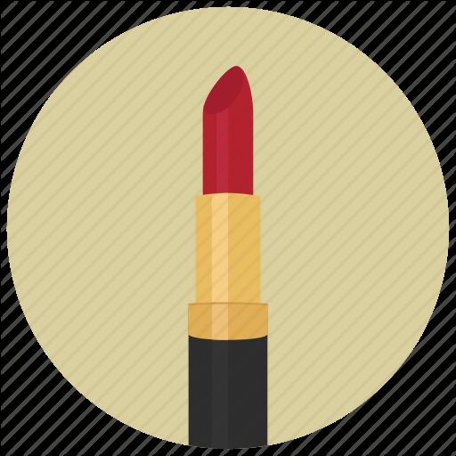Lipstick clipart flat icon. Cosmetics computer icons