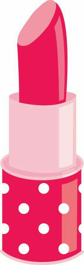 Cute printables borders clip. Lipstick clipart girly