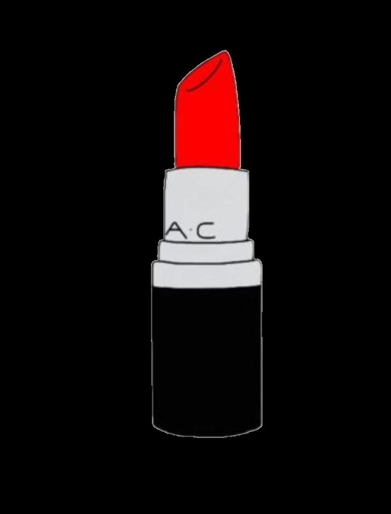 Sticker by jessica knable. Lipstick clipart gold lipstick
