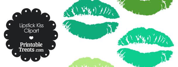 Free lips clip art. Lipstick clipart green lip