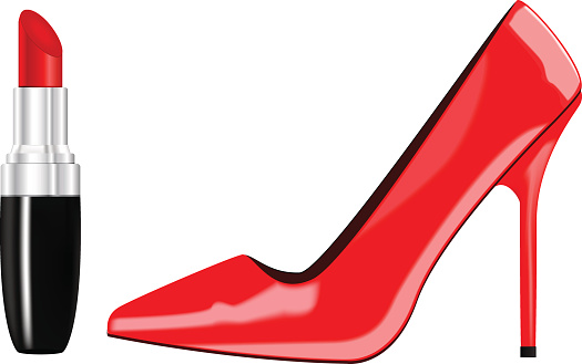 Lipstick clipart high heel. Free download best on