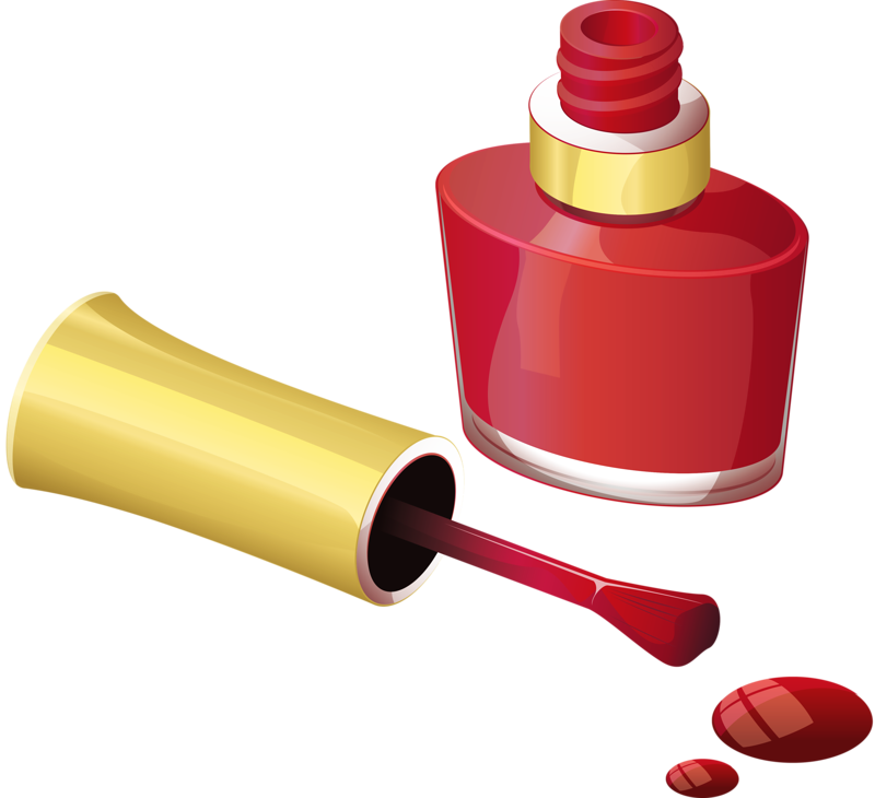 Nail clipart screw top. Polish brush clip art