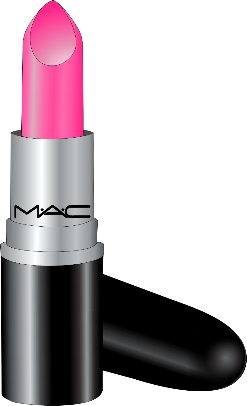 Lipstick clipart makeup tumblr. Batom mac vetor gratis