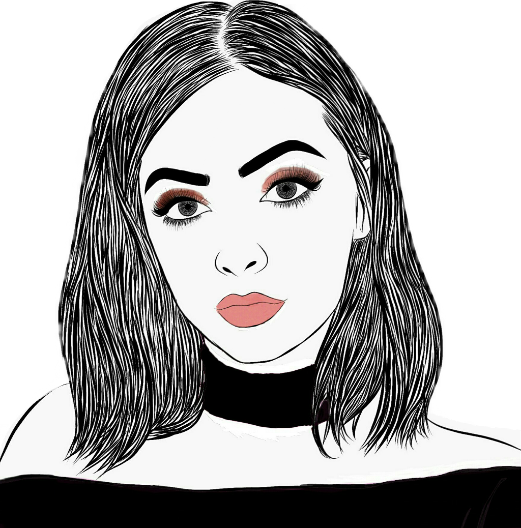 Kyliejenner kylie girl draw. Lipstick clipart makeup tumblr