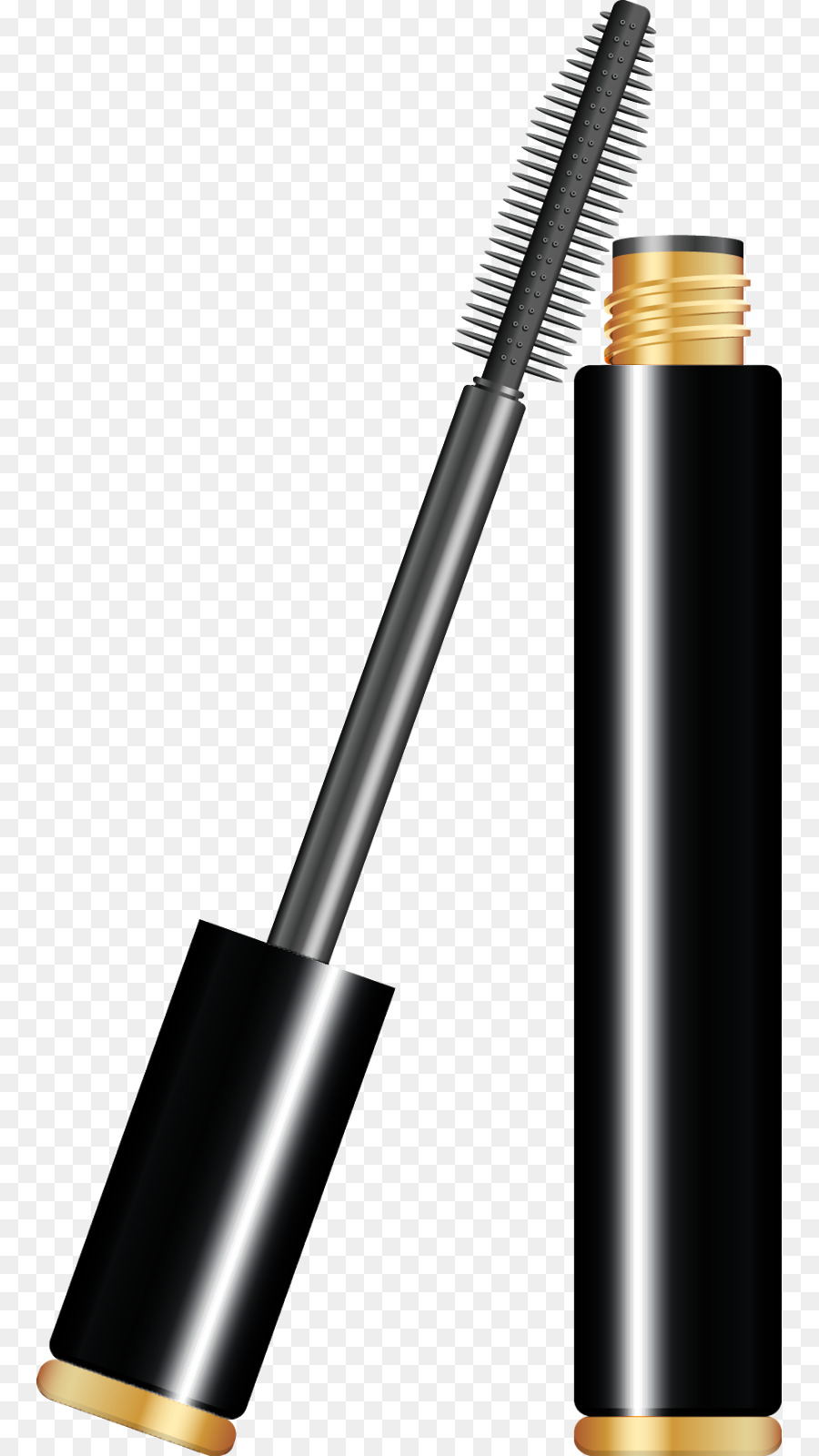 India paint cosmetics drawing. Lipstick clipart mascara
