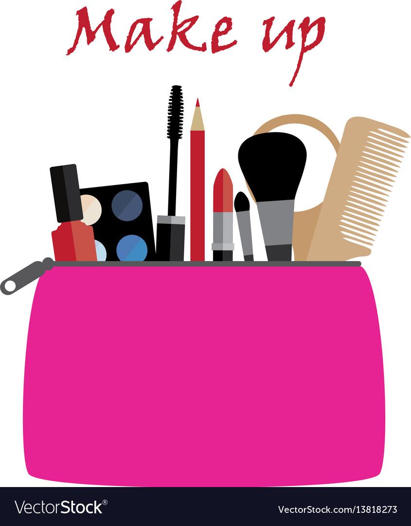Lipstick clipart purse. Free download clip art