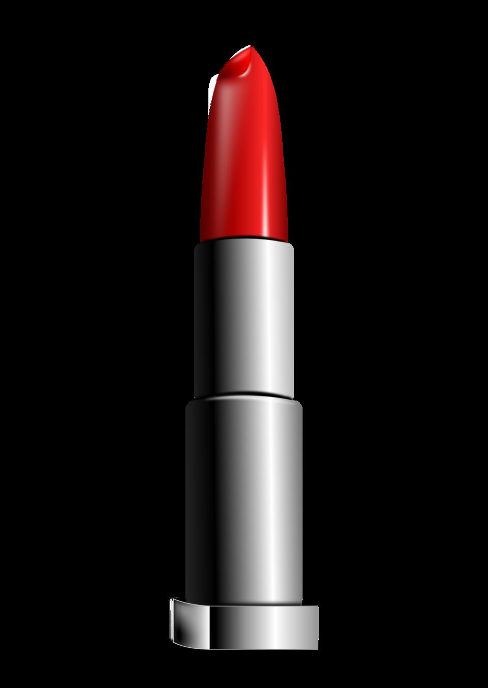 Lipstick clipart vector. Public domain clip art