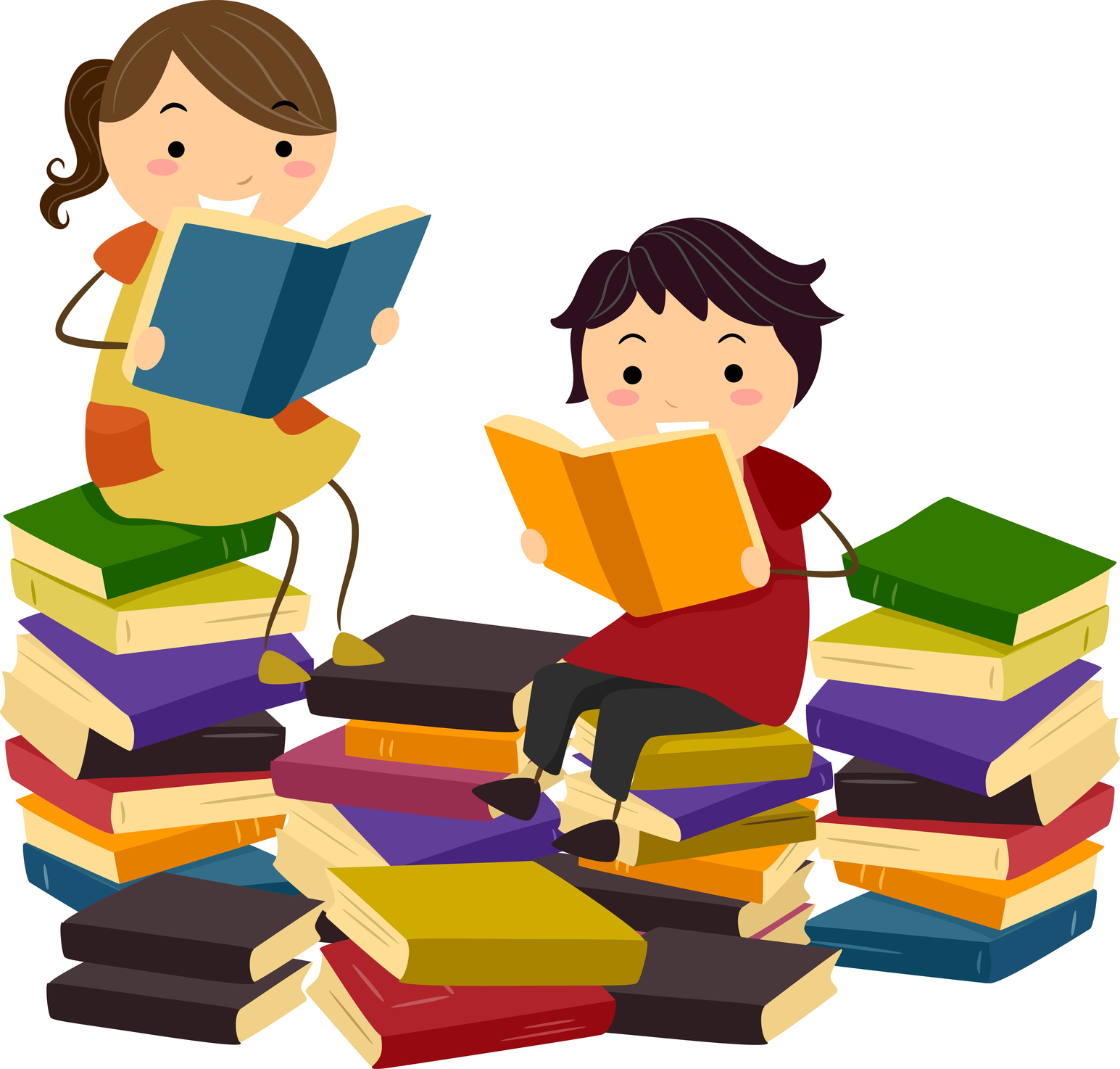 collection of family. Literacy clipart