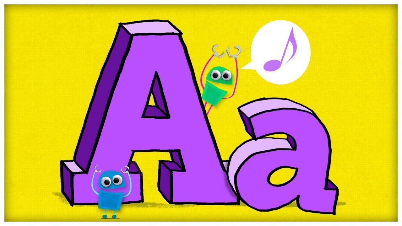 The letter a hooray. Literacy clipart abc song