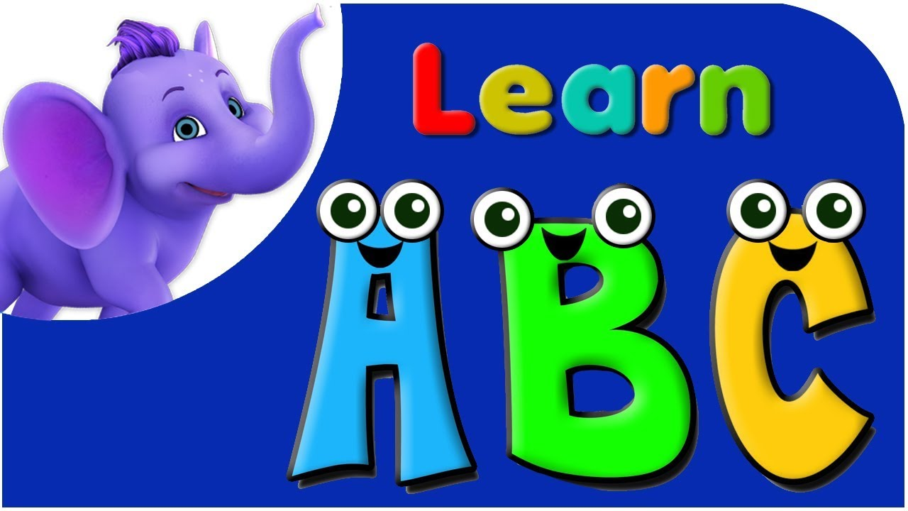 Literacy clipart abc song. Let s learn the