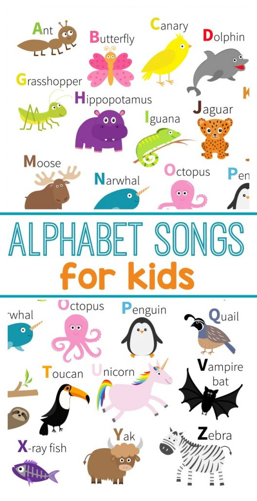 Literacy clipart abc song. Help kids learn their