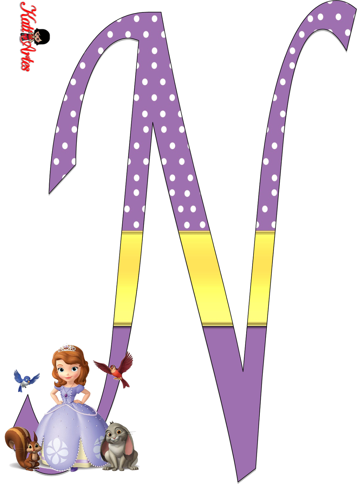 Literacy clipart alphabet. Sofia the first alfabeto