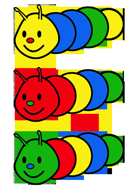 Literacy clipart book reading caterpillar. Opdrachtkaart kleurenrups a formaat