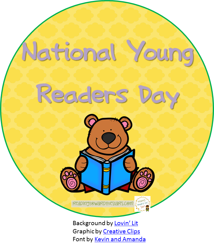 Young clipart early life. National readers day this