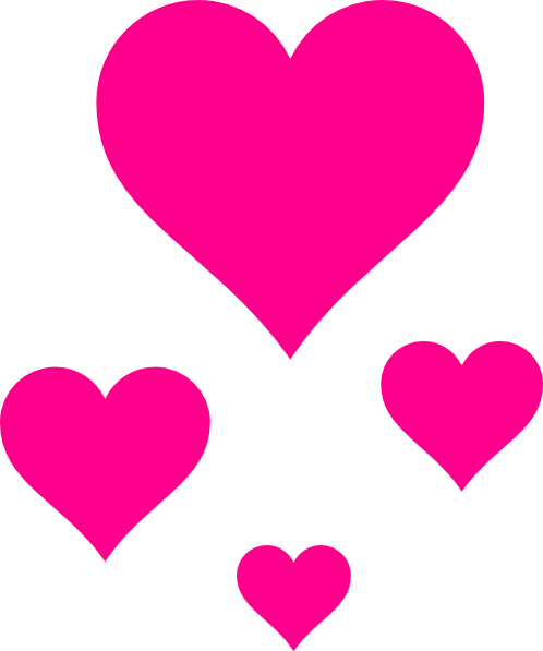 Pictures of pink goal. Little hearts png