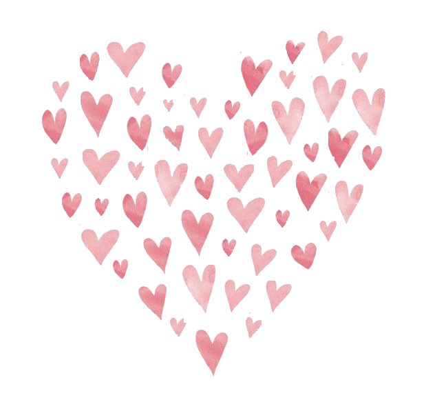 Pin by monique poll. Little hearts png