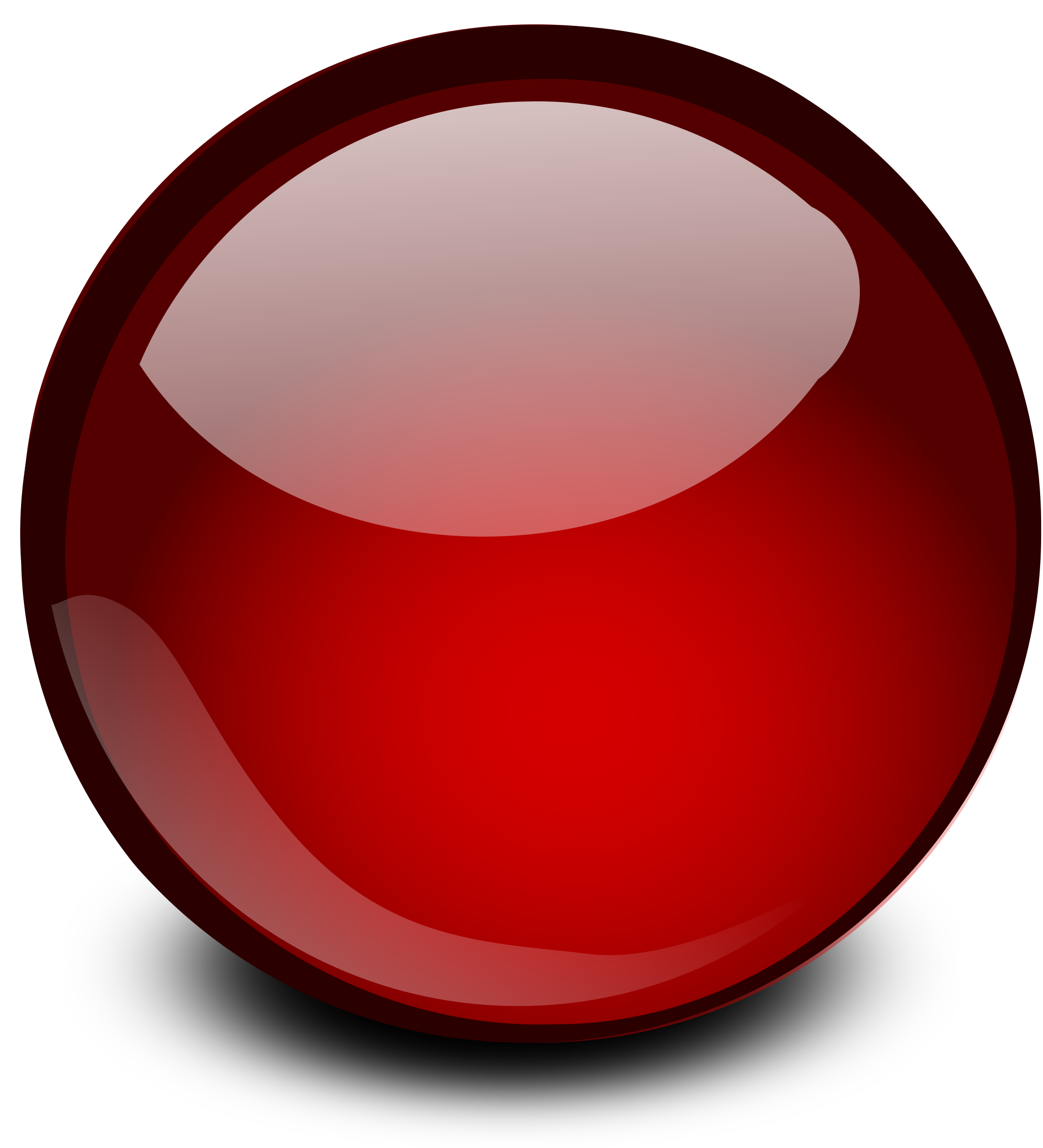 Marbles clipart red sphere. Free glossy orb cliparts