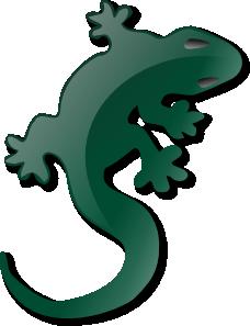 Clip art at clker. Lizard clipart