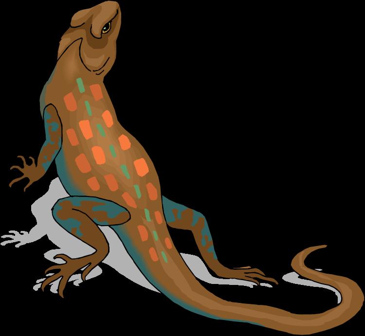 Lizard clipart drawn. Cliparts zone clip art