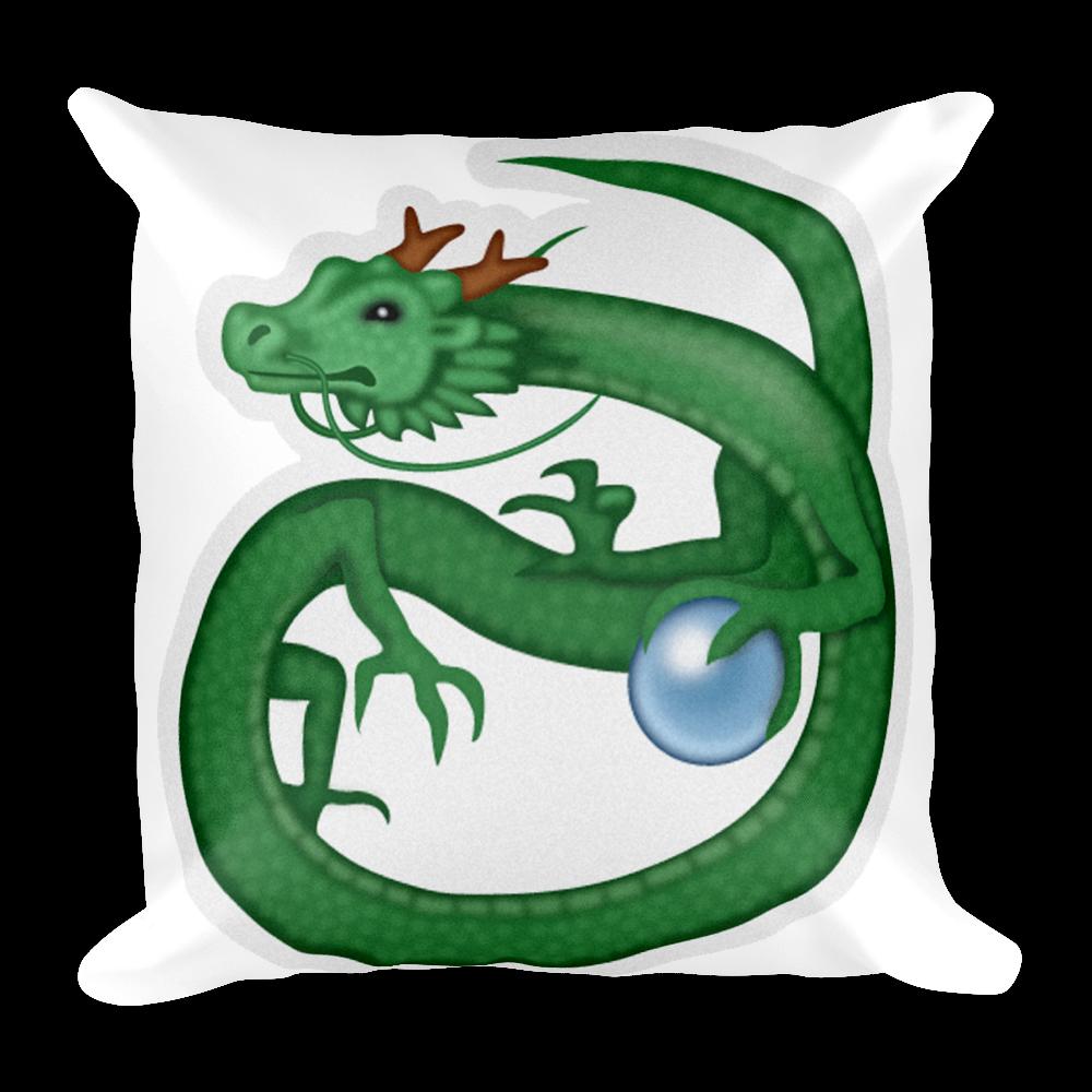 Lizard clipart emoji. Pillow dragon just