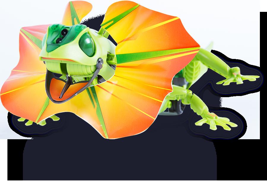 Frilled lizard robot . Neck clipart human neck