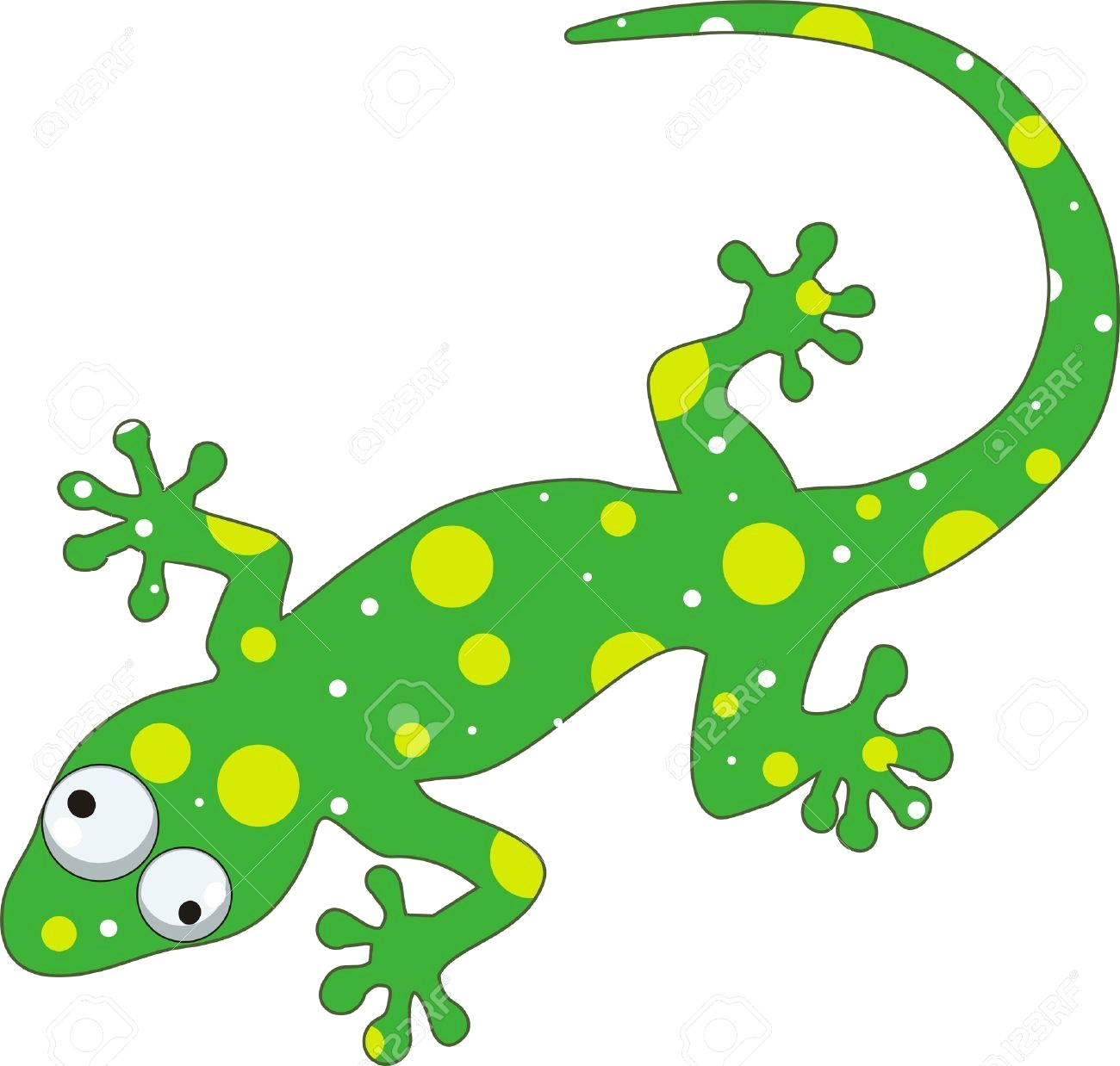 For to free images. Lizard clipart printable