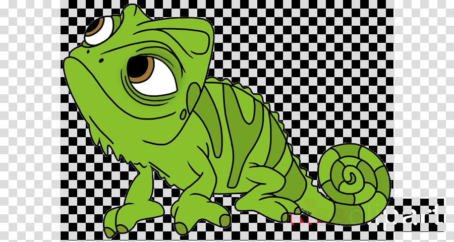 Lizard tangled chameleon . Rapunzel clipart gif transparent